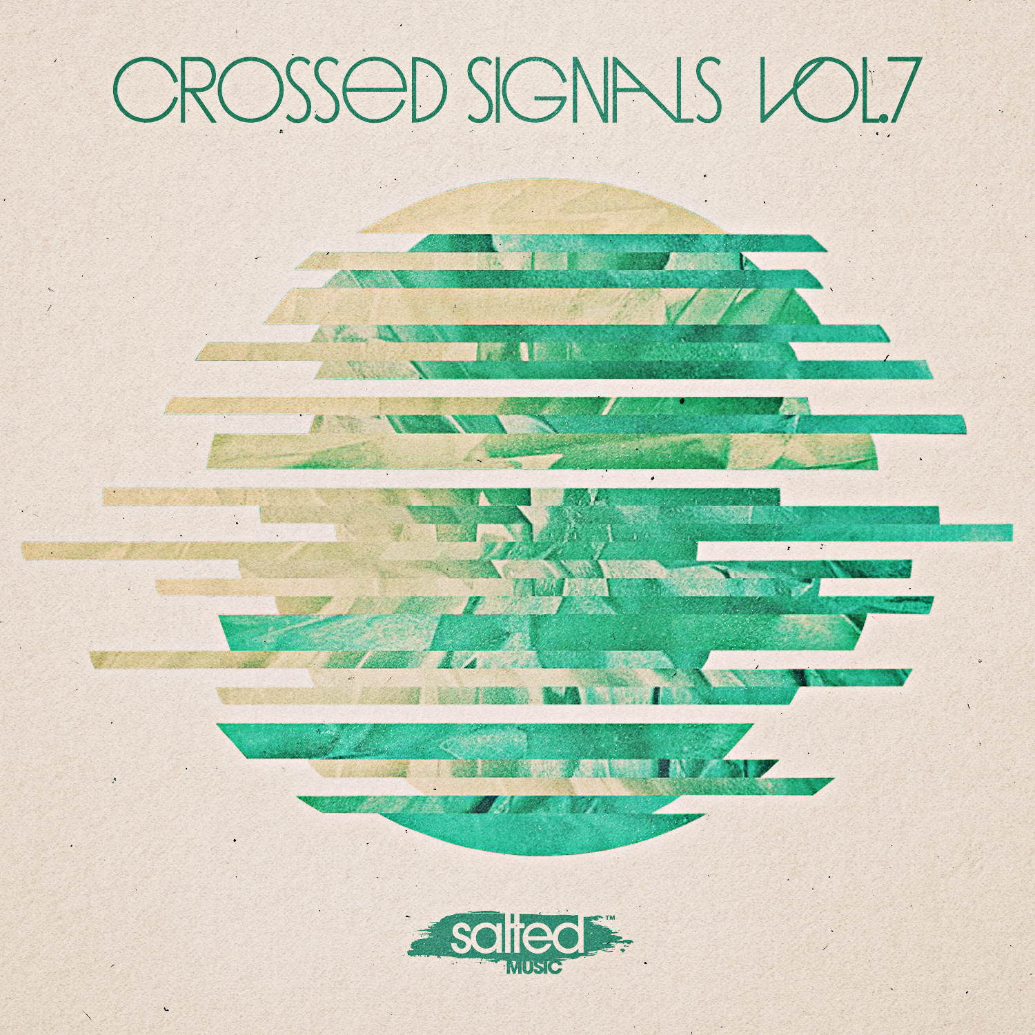SLT158: Crossed Signals Vol. 7 – Various Artists (Salted Music)