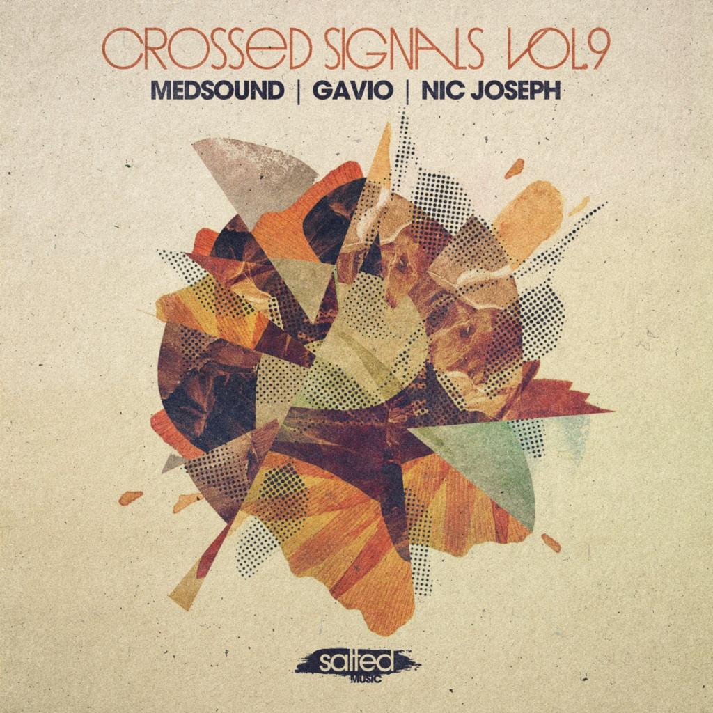 SLT173: Crossed Signals Vol. 9 - Medsound, Gavio, Nic Joseph (Salted Music)