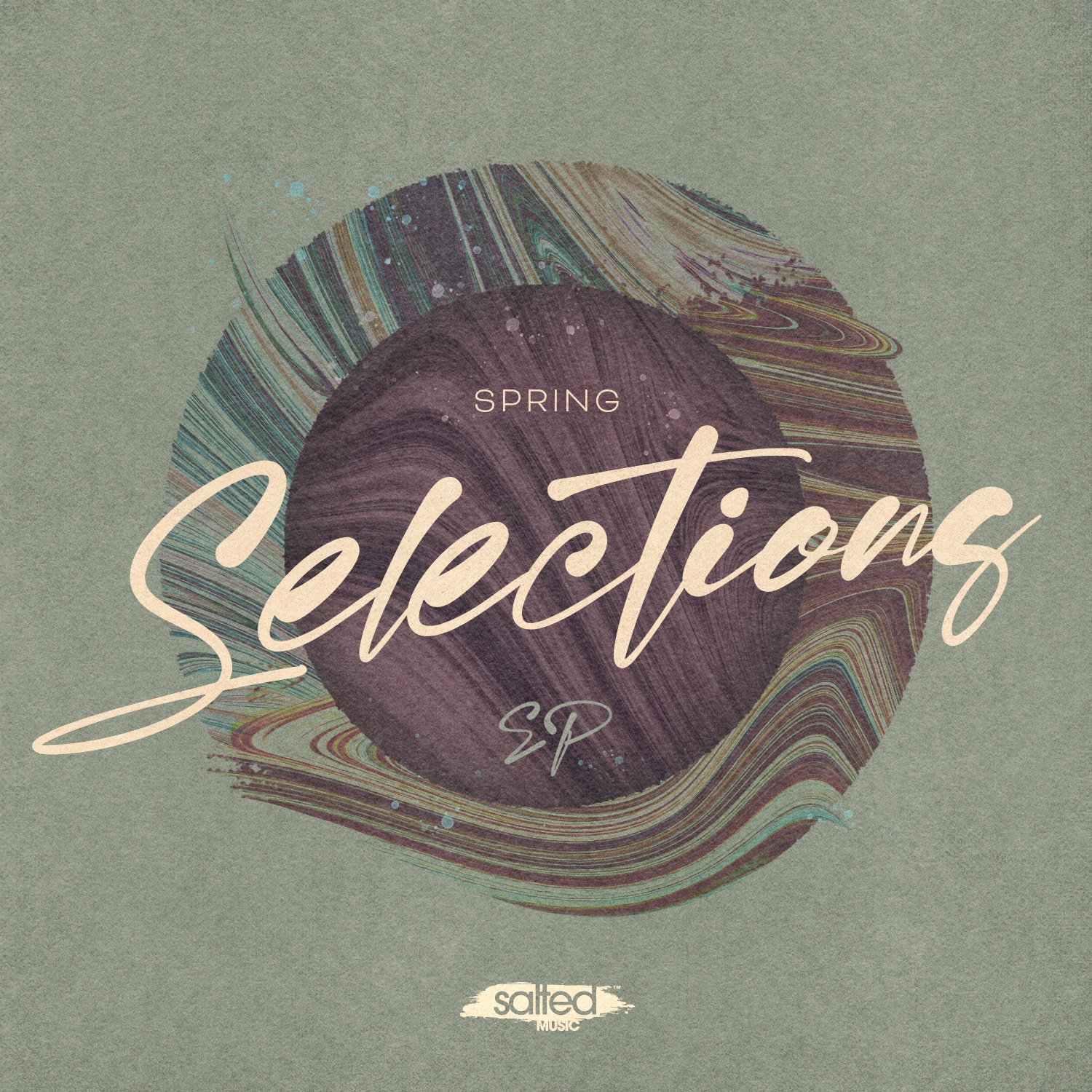 SLT200: Spring Selections - Various Artists (Salted Music)